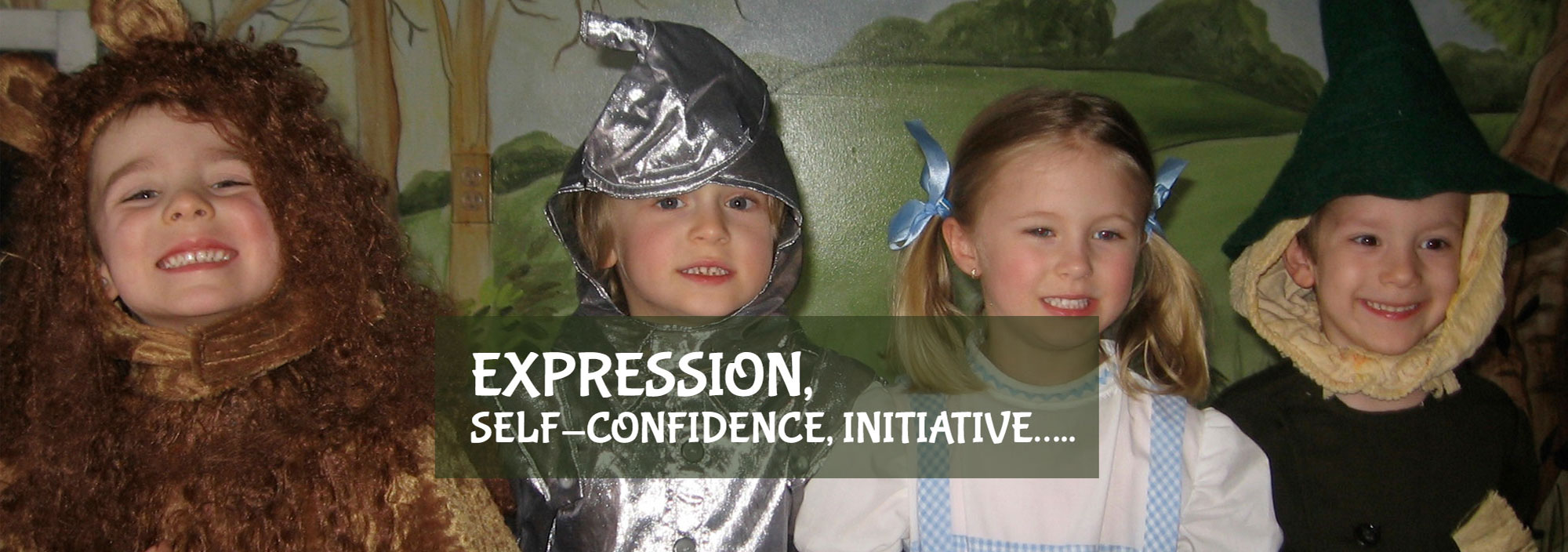 Expression, Self-Confidence, Initiative.....